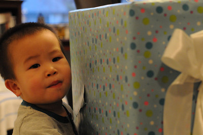 Micah's Two!  2009.12.19
