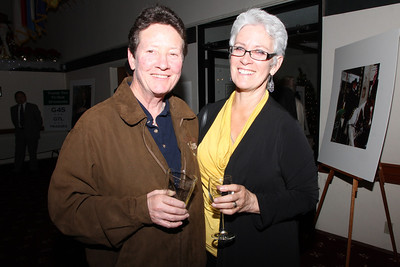 Left, Jan Dempsey, Undersheriff, with her partner.