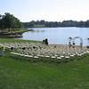Wedding was at local Prairie Lee Lake (7/15)