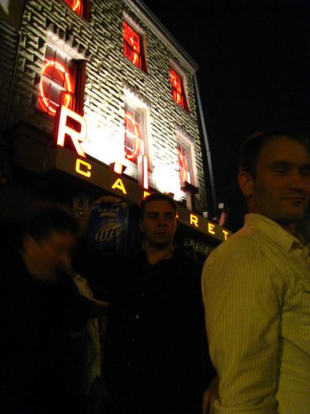 Outside of the Ritz Cabaret