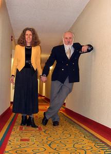 Stephen Somerstein & wife Eva Strauss-Rosen - Milton Walsey 100th birthday party, Marriott Hotel, Boca Raton, Florida. Dec. 10, 2011