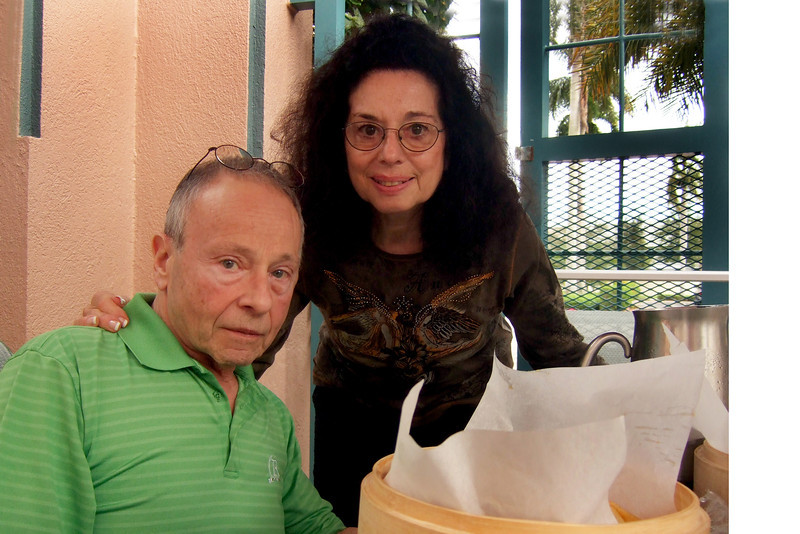 Joan and her husband Elliot Walsey - Milton Walsey 100th birthday party, Marriott Hotel, Boca Raton, Florida. Dec. 10, 2011