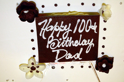 Milton Walsey 100th birthday party.  Dec. 10, 2011