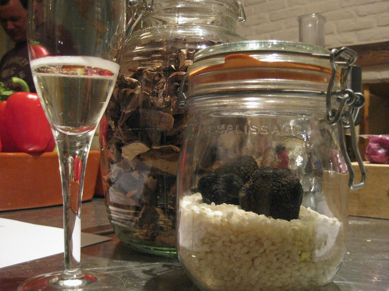 Real truffles! Black, of course duuh