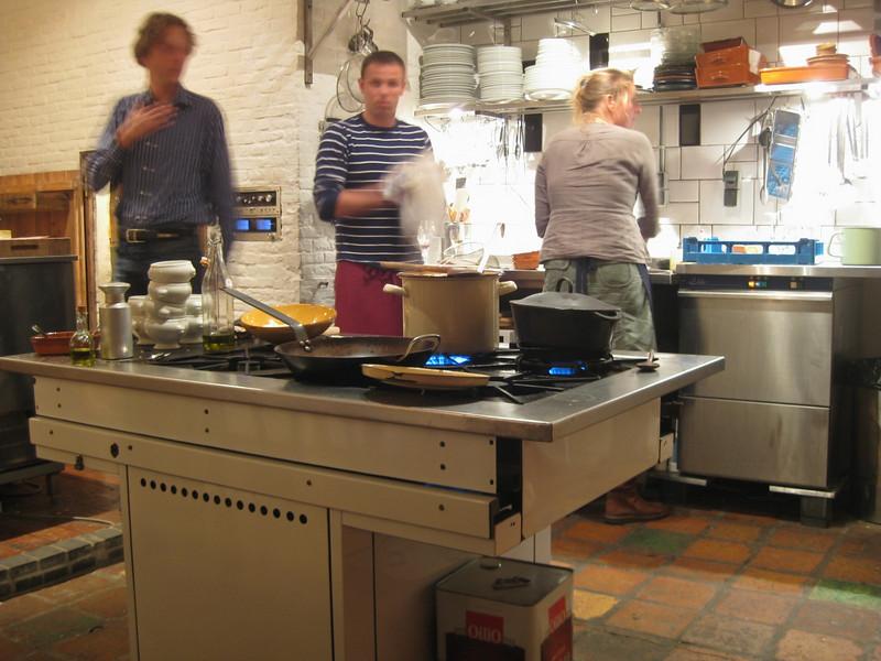 Romano's kitchen in Capo Cucina