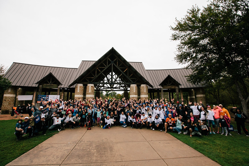 Over 300 people registered for the 2015 DFW NPF Walk to Cure Psoriasis. The walk was held on a rainy morning at River Legacy Park, on November 7, 2015.