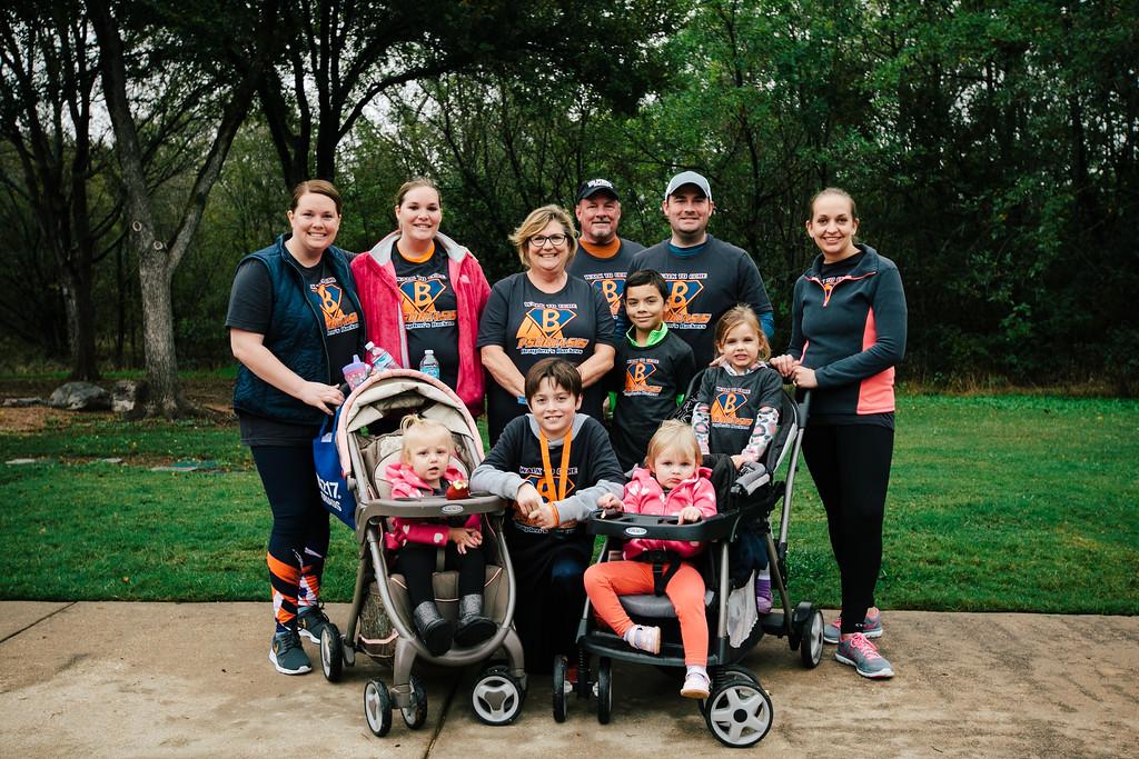 "Team ""Brayden's Backers"" at the 2015 NPF Walk at River Legacy Park in Arlington, Texas."