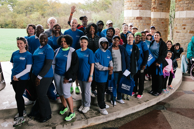 Team Chase at the 2015 NPF Walk at River Legacy Park in Arlington, Texas.