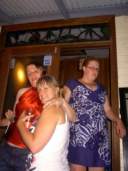 Holly, Jenny and Katie