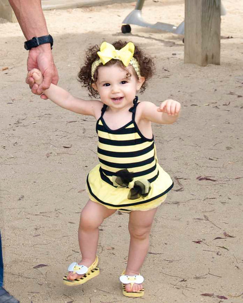 Natalia's 1st Bee-Day