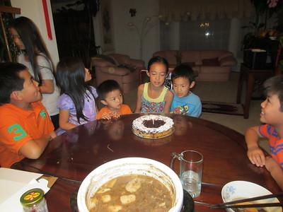 Natalie's birthday 2015 part 2