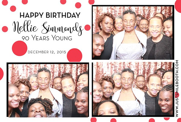 Nelly Simmonds 90th Birthday
