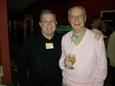 """Dick Evans and Cliff """"Van"""" Vanover"""