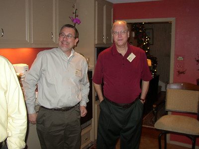 Paul Doyle with Mike Stargel