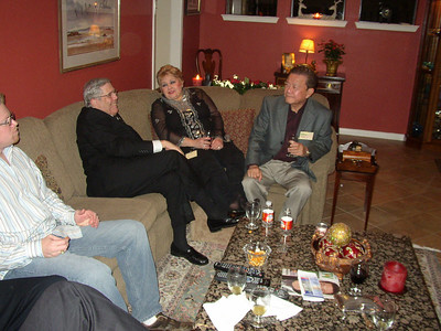 Jerry Nisenson with Barbara Manousso and Arthur Conde