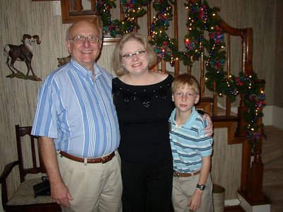 John, Evie and Charles Grubb