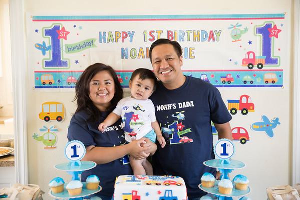 Noah's First Birthday