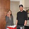 And then we move straight into beer pong.  No messing around with this crowd!  First, Lynn and Andrew...