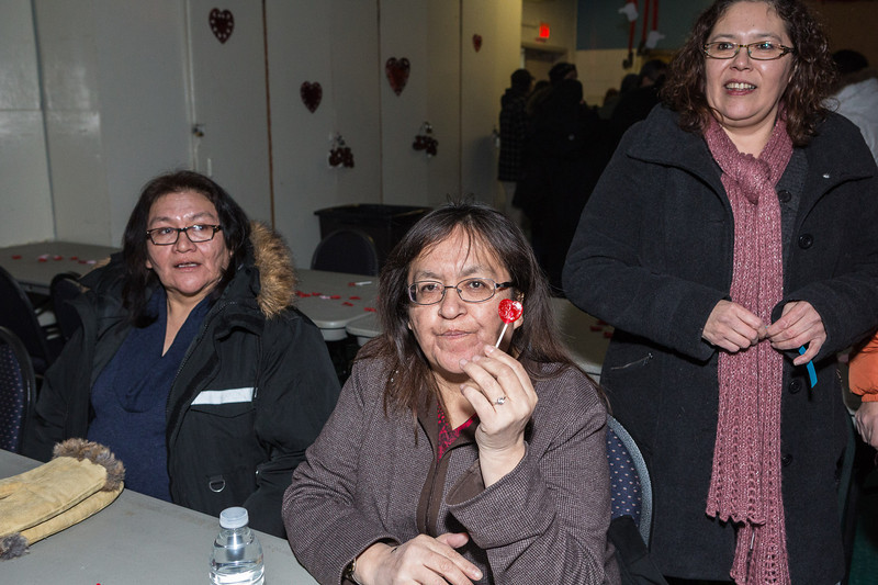Engagement party for Ross Corston and Norma-Jane Edwards in Moosonee.