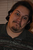 Chris makes an amusing face.
