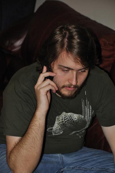 Gary receives a call requesting an urgent meeting.