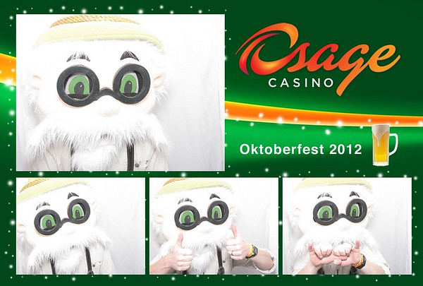 Oktoberfest 2012 with Osage Casino