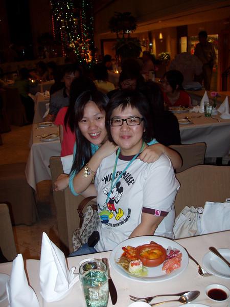 P1010126 <br /> Gloria and Connie