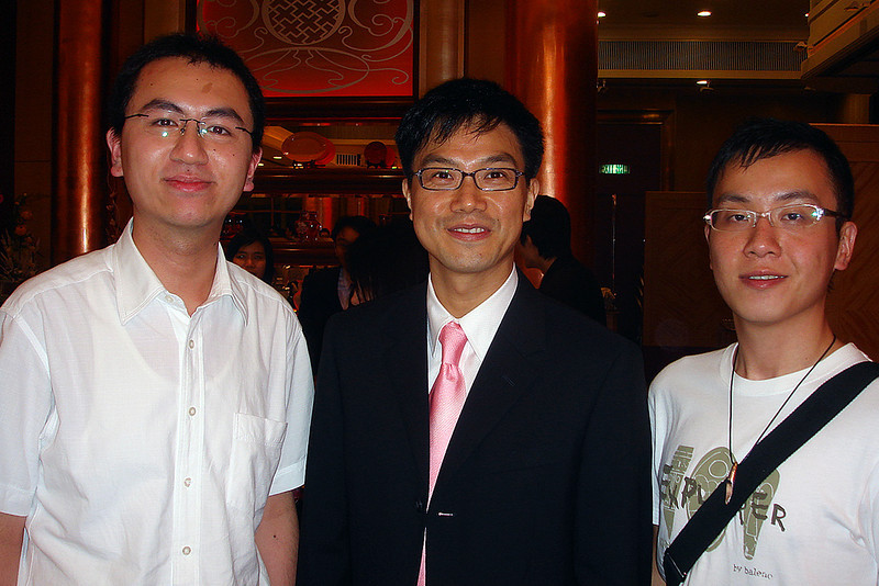DSC01490 <br /> Lawrence, Mr Fung and Hois