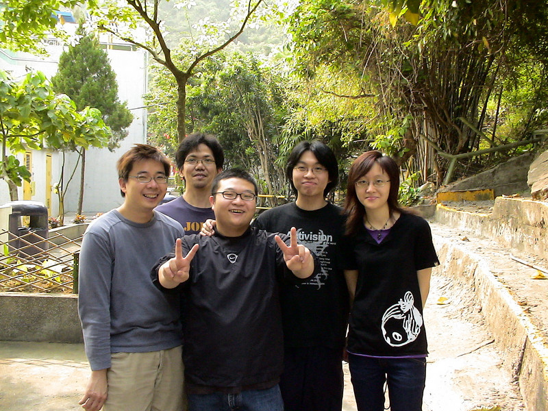 DSC00059 <br /> Kelvin, 炳, Hei, Raymond and Karen