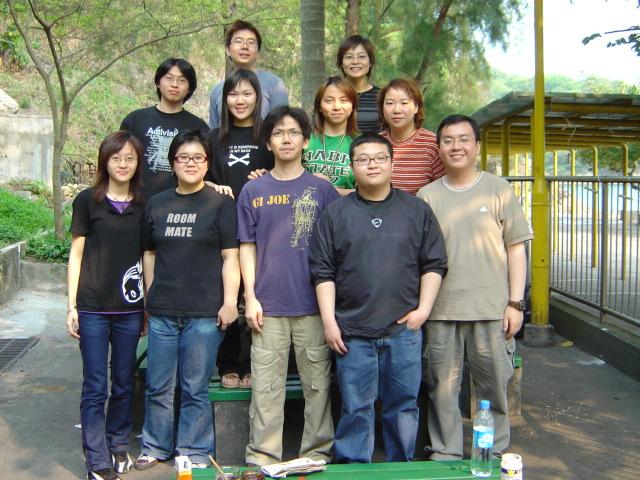 bbq 1027 <br /> Karen, Raymond, Connie, Kelvin, 炳, BoBo, Sandy, Hei, Jean and Hois