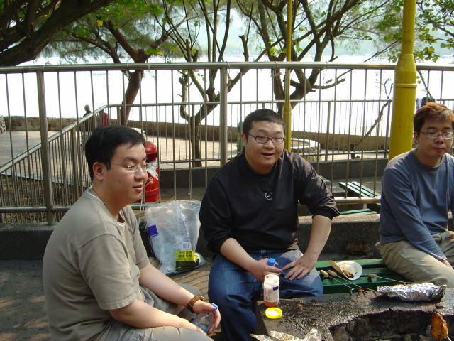 bbq 013 <br /> Hois, Hei and Kelvin