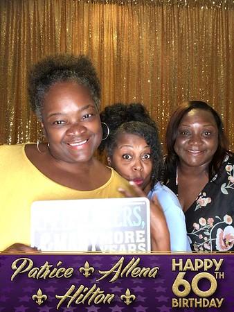 Happy 60th Patrice, Allena and Hilton