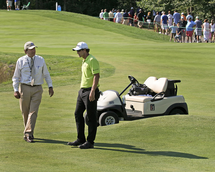 01 SEP 12   during Saturdays Second Round action at The Deutsche Bank Championship at The TPC of Boston in Norton, Massachusetts.