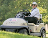 21 JUN 12  PGA Tour Official Mark Dusbabek on patrol during Thursdays First Round at The Travelers Championship at The TPC at River Highlands in Cromwell, Connecticut.
