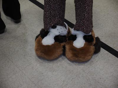 Pajama Dance | Kathy's Doggie Slippers!