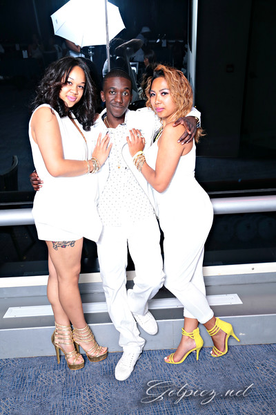 Party Boat All White Affair  6-8-2014