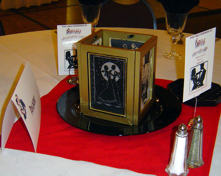 Dinner Dance-Custom Candle Lantern Centerpiece.<br /> Maneeley's in South Windsor