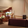 Parisien Party- Lighted Flower Cart, Artist's Easel and Dessert Table.<br /> Maneeley's in South Windsor