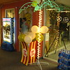 Hollywood- Lighted Movie Poster, Lighted Palm Tree, Popcorn Box with Popcorn Balloons.<br /> Courthouse Plus in Manchester