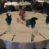 Luau-Custom Fish Centerpiece with Shells and Battery Operated Votives.       <br /> Maneeley's in South Windsor
