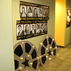 Hollywood- Lighted Film Reels and Foil Film Rolls with Pictures of Graduates taken at Prom.  <br /> Courthouse Plus in Manchester