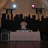 New York Backdrop- Perfect for a themed party. This backrop is lighted and easy to assemble. Use behind your buffet or DJ.<br /> Maneeley's in South Windsor