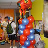 Balloons-Superhero Balloon Column.<br /> Courthouse Plus in Manchester
