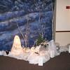 Winter Wonderland-Detail of Lighted Snow Decor<br /> Maneeley's in South Windsor