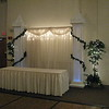 Royalty Themed Prom Backdrop-Columns with Castle Tops and Ivy.<br /> Maneeley's in South Windsor