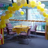 Balloons-Popcorn Balloon Arch.<br /> Courthouse Plus in Manchester