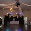 New York Backdrop- This is shown on the Dance Floor behind the DJ with a Balloon centered Dance Canopy at a Prom.<br /> Maneeley's in South Windsor