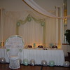 Quinceanera- Balloon and Tulle Backdrop and Decorated Head Table.<br /> Maneeley's in South Windsor
