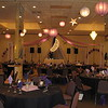 Purple Prom- Another view of the dance floor with about 40 lanterns hung all over the room. <br /> Maneeley's in South Windsor