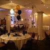 Adult Birthday Party- Dance Canopy with balloon center, up lights and balloon centerpieces. <br /> Maneeley's in South Windsor.